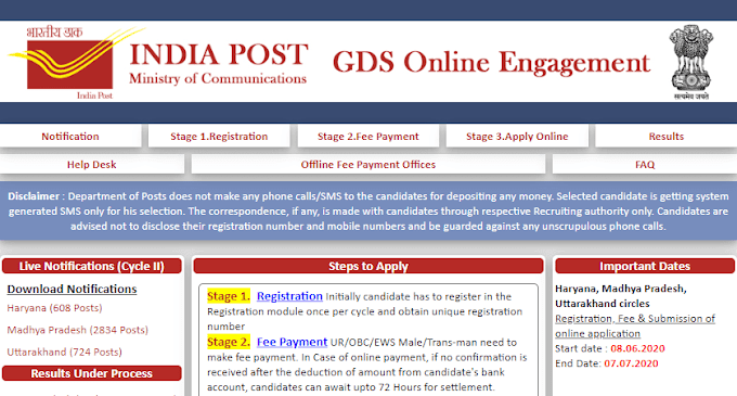 India Post GDS Recruitment 2020: Eligibility Criteria, Salary & How To Apply