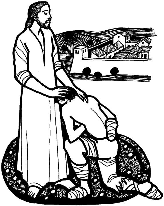 Healing Clipart Leper