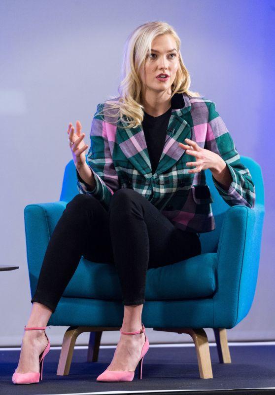 Karlie Kloss – Iron School Talk in London