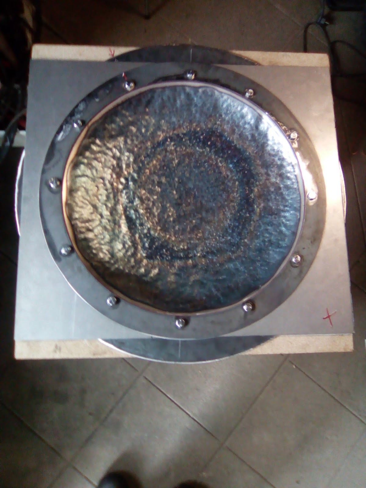 Fabrication handpan