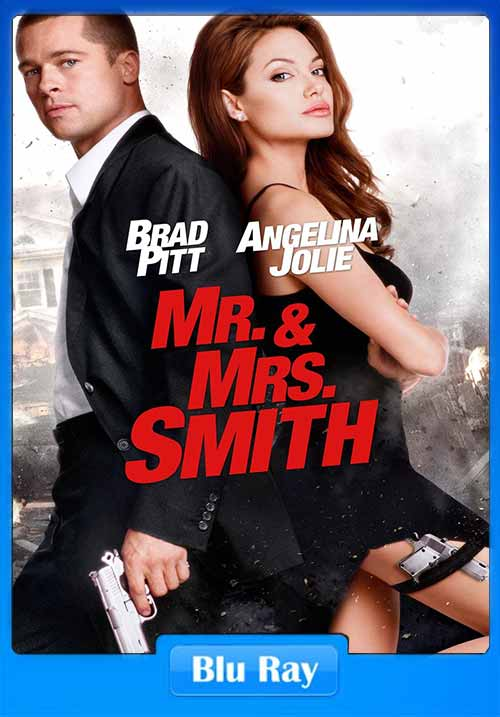 Mr And Mrs Smith 2005 DC 480p BluRay 400MB x264