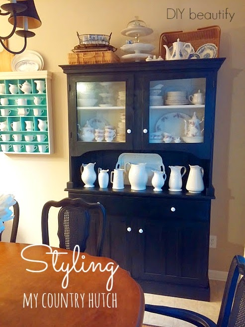Styling my country hutch