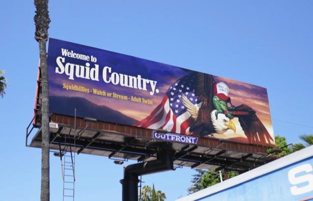 Squidbillies season 12 billboard