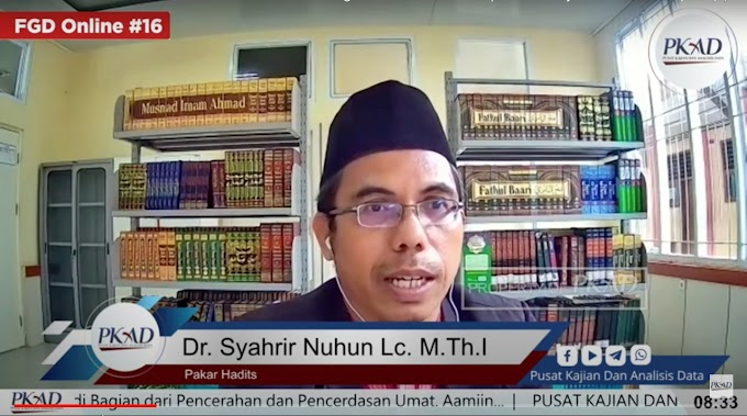 Ketika Kedzaliman Memuncak di Situlah Tanda Keruntuhan, Begini Analisis Pakar Hadits, Dr Syarhrir Nuhun
