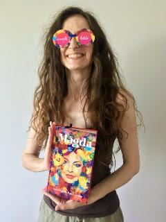 "trochę kolorku, czyli ja i ""Magda. Autobiografia Magdy Gessler"" Magda Gessler, Dominik Linowski, fot. paratexterka ©"