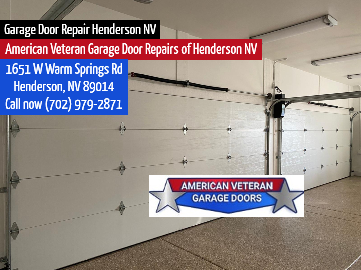 Veteran Garage Door And Installation Garage Door Repair Henderson Nv
