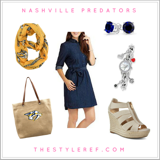 Nashville Predators fashion outfit