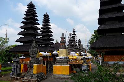 Royal Family Temple à Mengwi, Bali en Indonésie
