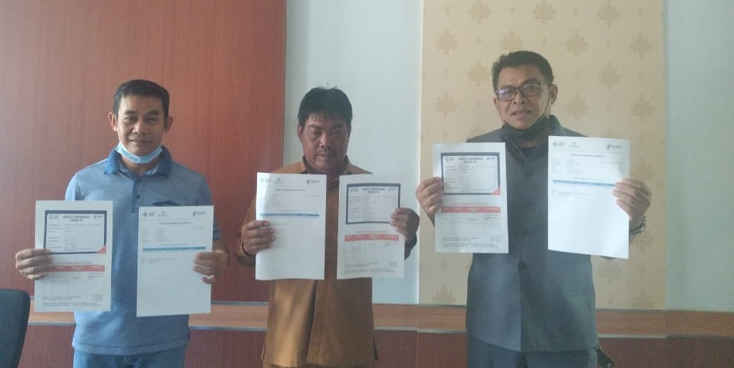 Anggota DPRD Luwu Utara Ikut Vaksinasi Covid-19, Haeruddin Yusuf : Kita Harus Jadi Contoh