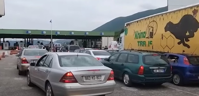 Kosovo imposes tampon certificate or quarantine for Albanians, removes the € 22 customs tariff on truck disinfection