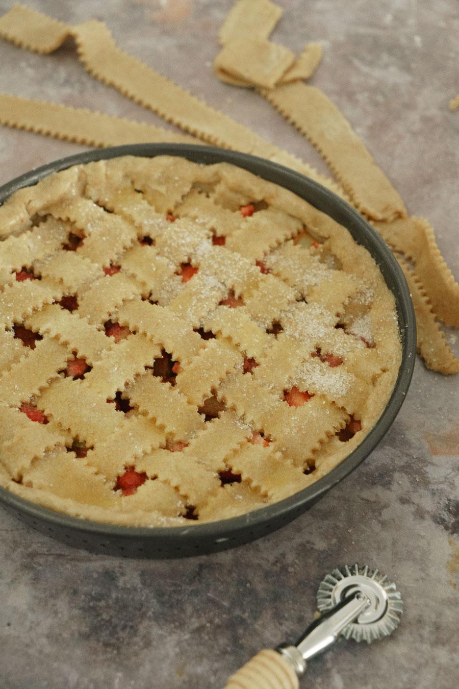 pâte brisée facile, tourte aux fruits, dessert d'été