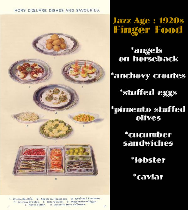Finger Foods Of The 1920s: Pin Food Desserts Cocktail Strawberries