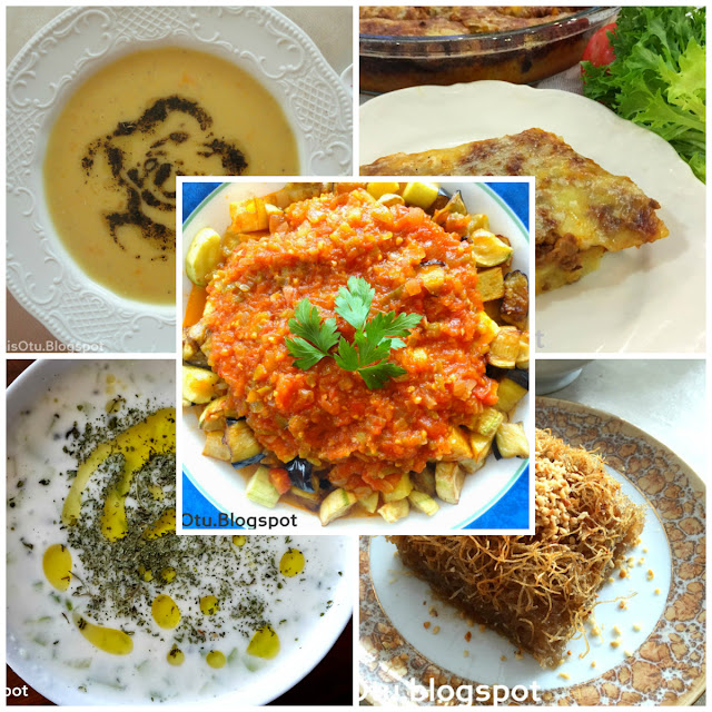 Menü, iftar menüsü, akşama ne yapsam, misafir geliyor, yemek tavsiyeleri, ramazan, yılbaşı