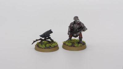 Uruk-Hai Warrior and Raven
