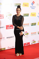 Vennela in Transparent Black Skin Tight Backless Stunning Dress at Mirchi Music Awards South 2017 ~  Exclusive Celebrities Galleries 079.JPG