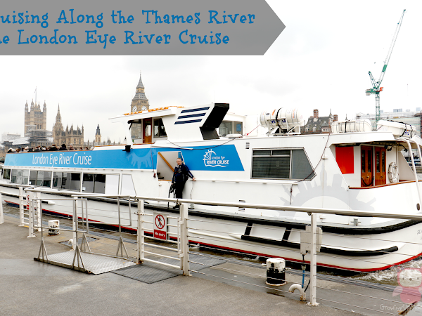 Cruising Along the Thames River - The London Eye River Cruise