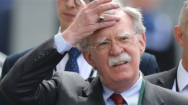 US National Security Adviser John Bolton blames foreign countries for discord in White House