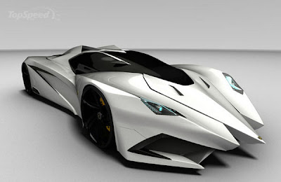Lamborghini Ferruccio Beautiful Concept By Mark Hostler