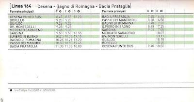 Trasporti Pubblici in Romagna: gennaio 2017