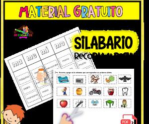 SILABARIO RECORTABLE