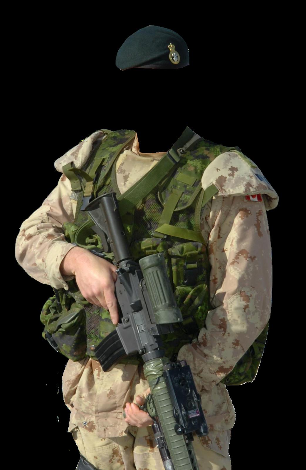 Шаблоны под фото военной формы