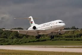 Uhuru's plane