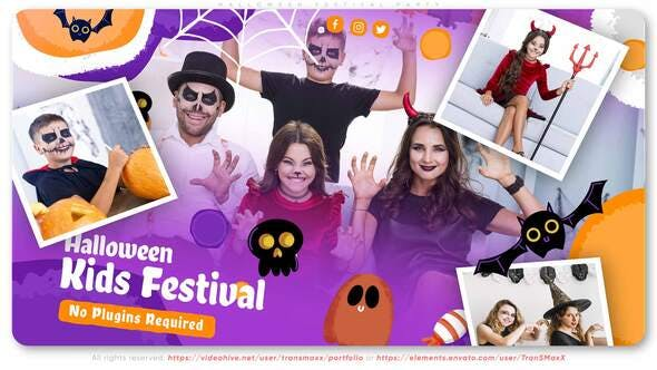 Halloween Festival Party[Videohive][After Effects][28944598]