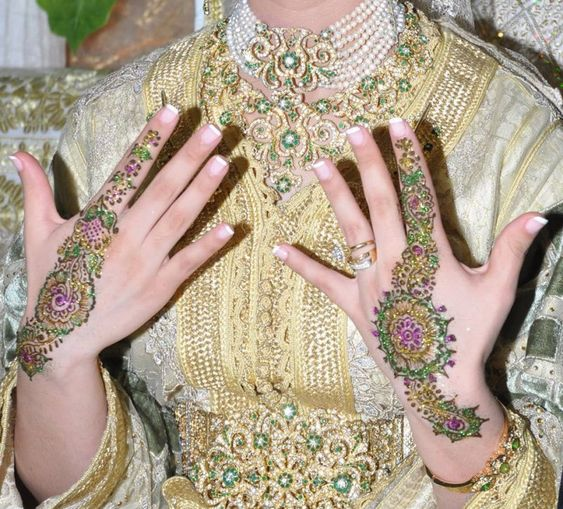 henna marocaine mariage hlel paris