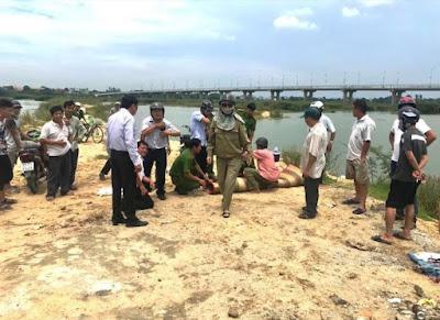 Quảng Ngãi Một học sinh tử vong khi tắm trên sông Trà Khúc