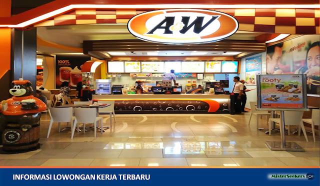 Lowongan Kerja A&W Restaurant Indonesia, Jobs: Staff Quality Assurance, Graphic Designer, Teknisi Pendingin, Etc