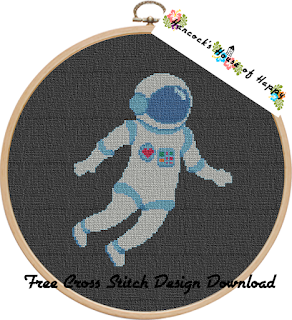 free astronaut cross stitch design absolutely free cross stitch patterns