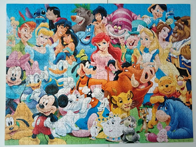 Disney 1000 piece jigsaw