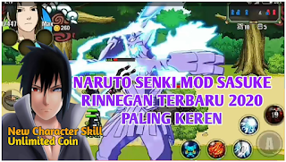 Download Naruto Senki Mod New Character Skill