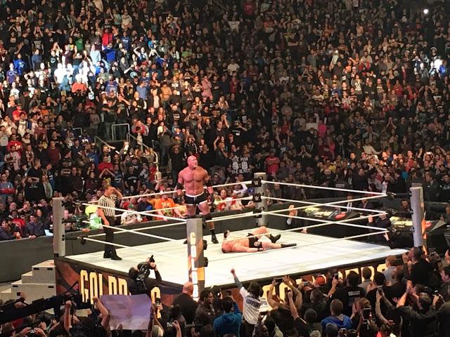 GOLDBERG SQUASHED BROCK LESNAR IN 87 SECONDS WWE SURVIVOR SERIES 2016