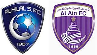 موعد مباراة الهلال والعين مباشر 17-10-2020 والقنوات الناقلة ضمن الدوري السعودي