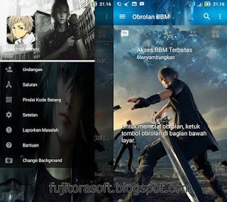 BBM Mod Anime Final Fantasy Terbaru Clone/Unclone New Version (v3.2.0.6)