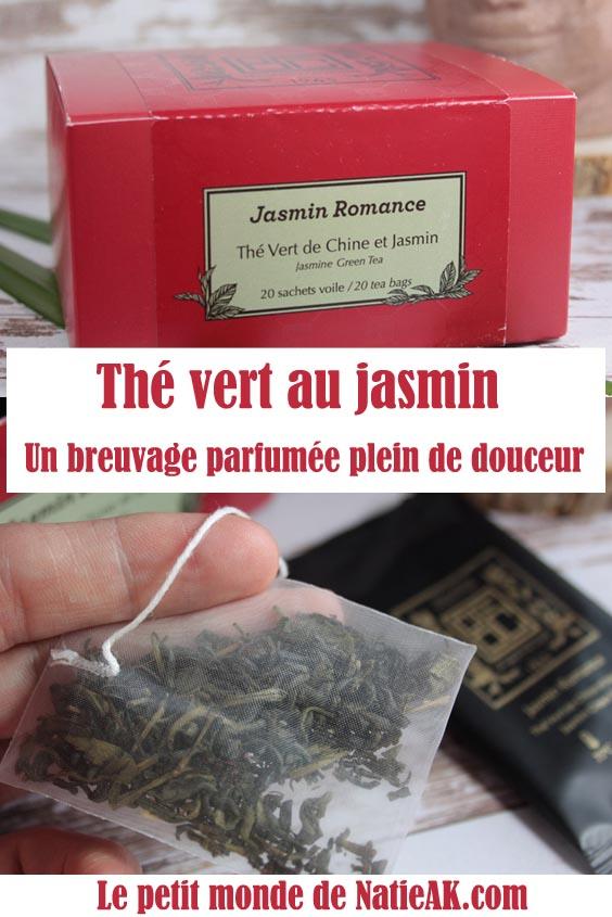 avis sur le thé vert au jasmin
