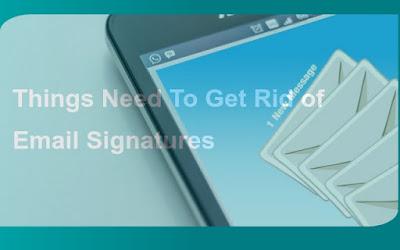 email signatures Quick Append