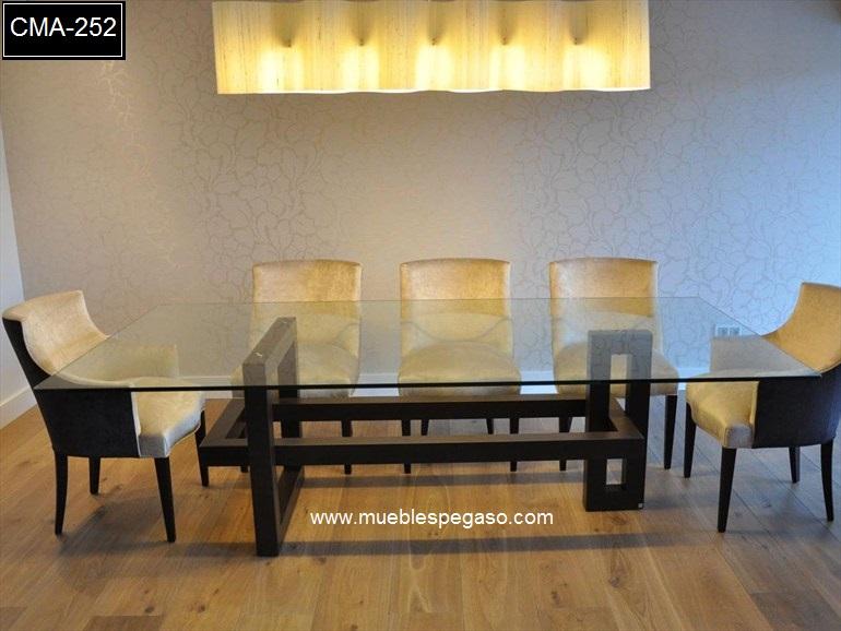 Comedores muebles per modernos comedores de acero for Parque industrial villa el salvador muebles