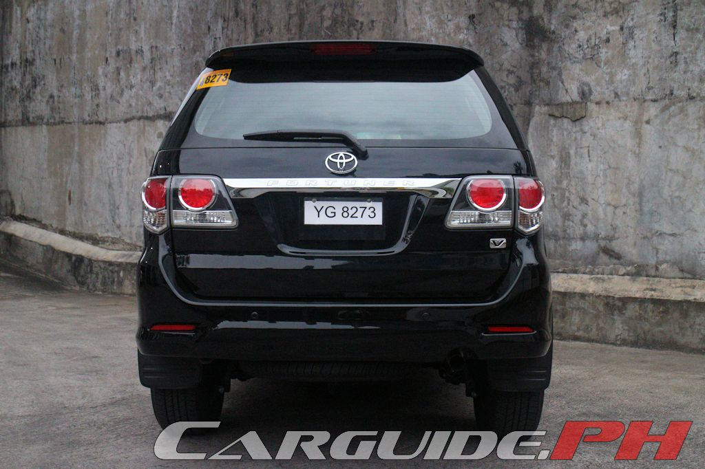 Review: 2015 Toyota Fortuner 2 5 V | Philippine Car News