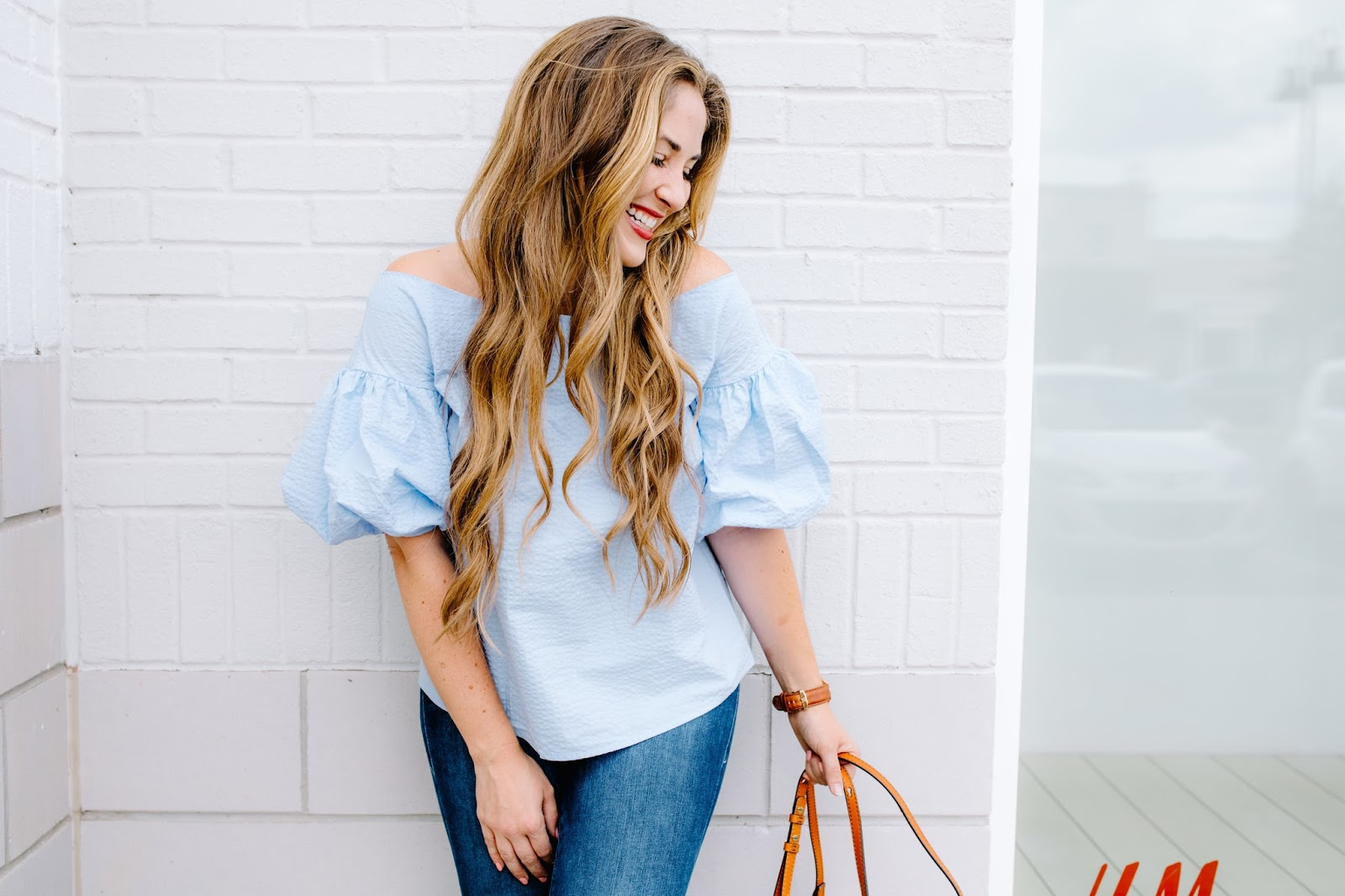 Trend Spin Linkup - Fun Puffy Sleeves by fashion blogger Walking in Memphis in High Heels