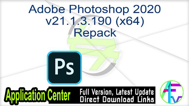 Adobe Photoshop 2020 v21.1.3.190 (x64) Repack