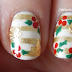 Golden Mistletoe Nails - Nail Polish Canada Entry