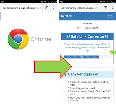 setting desktop site in chrome