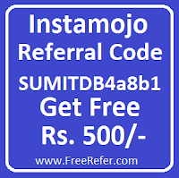 instamojo referral code