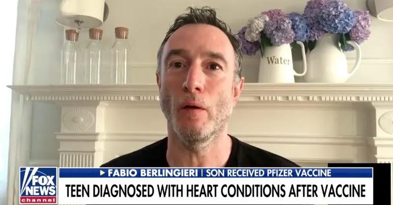 17χρονος με καρδιακό πρόβλημα μετά το εμβόλιο – Δραματικά λόγια από τον πατέρα του, vid