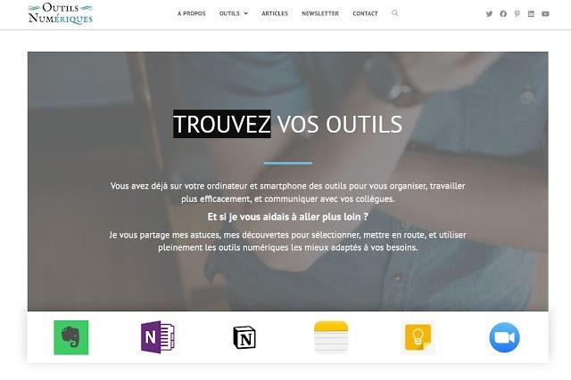 Le site du jour : OutilsNum.fr