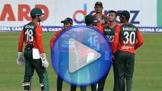 Ban vs NZ 1st T20I 2021 Highlights