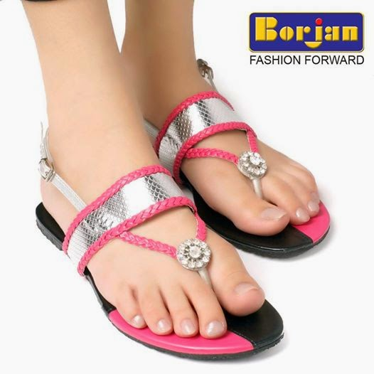 Summer Wear Shoes Collection For Girls By Borjan From 2014 ...