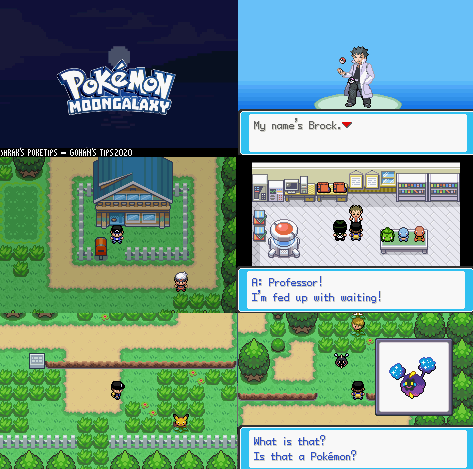 Pokemon Moon Galaxy GBA ROM Hack Download